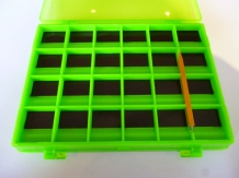 Fly Box Magnetic Hook Box Green